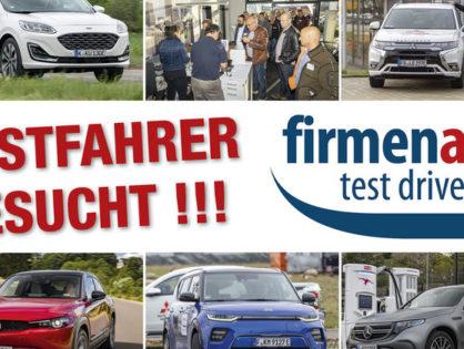 Firmenauto Testdrive 2020 in Schwäbisch Hall
