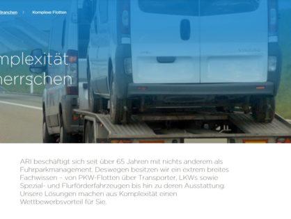 ARI Germany beim SIGNal Flottentag 2020