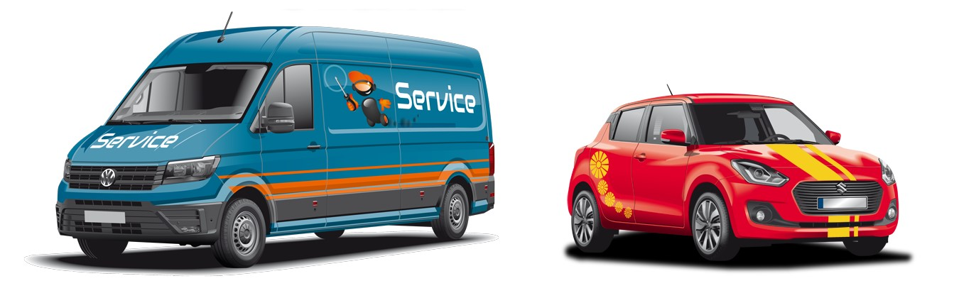 Auto online gestalten