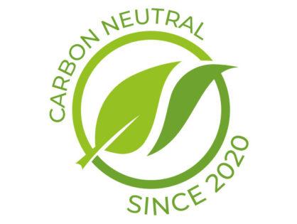 Wir sind CO²-neutral!
