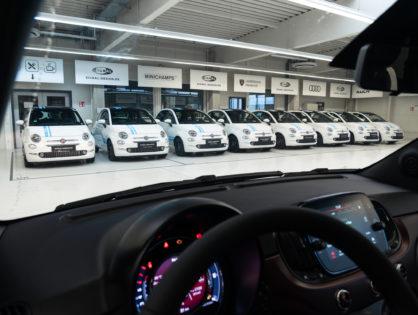 Cofinpro - Flottenfolierung Fiat 500