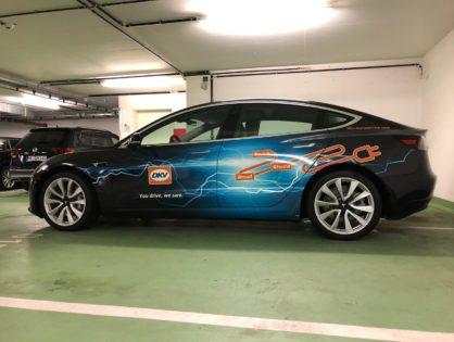 Folierung Ihrer E-Fahrzeuge