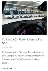 Fiat500 folieren